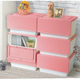 Good Quality Front open plastic stackable home storage