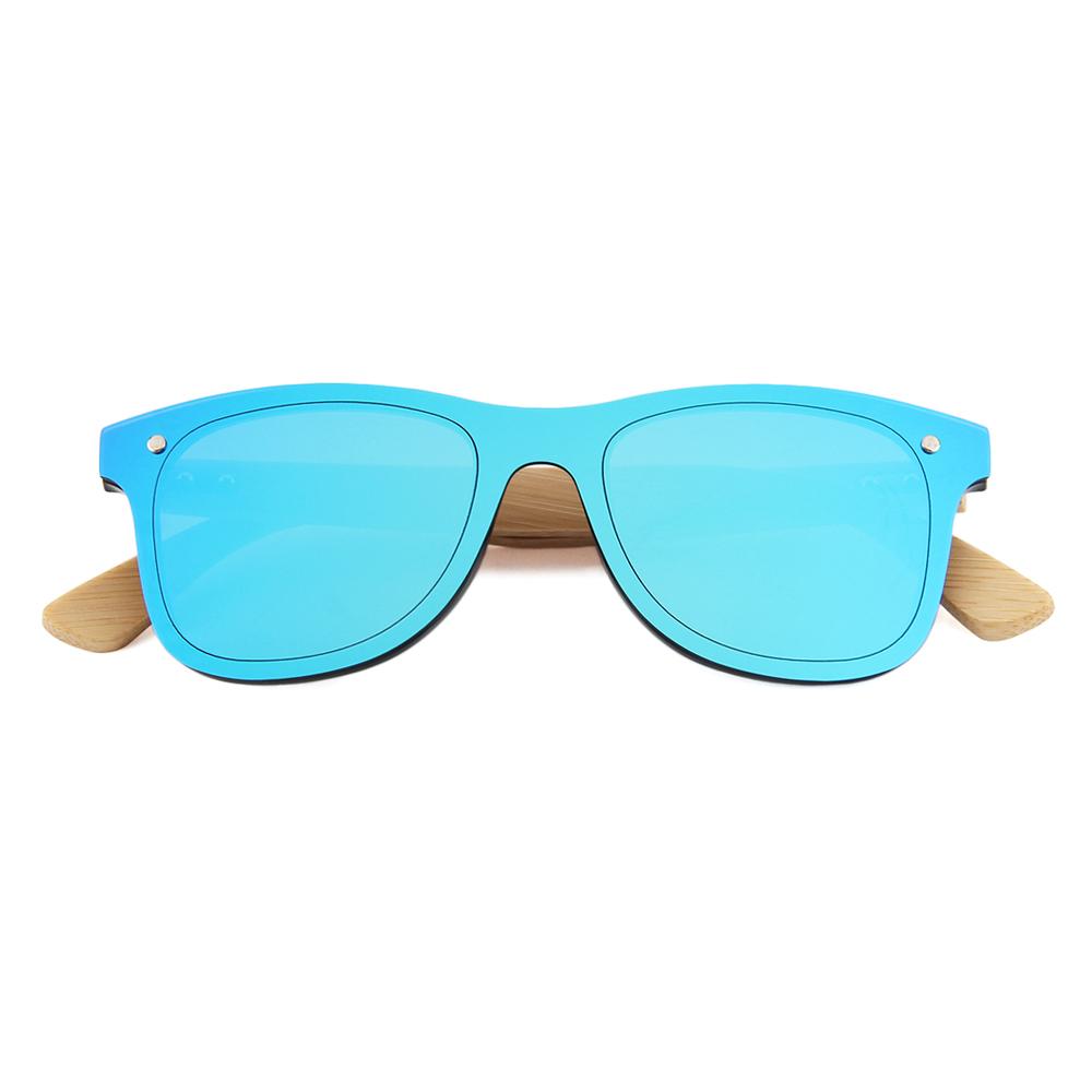 hot selling sustainable bambu temple bamboo sunglasses with custom logo, Custom colors
