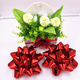Chinese product 8 inch diameter red plastic ribbon bow Jumbo gift ribbon bow used for festival and gift box decoration