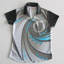 Sublimation kundenspezifisches design netball jersey