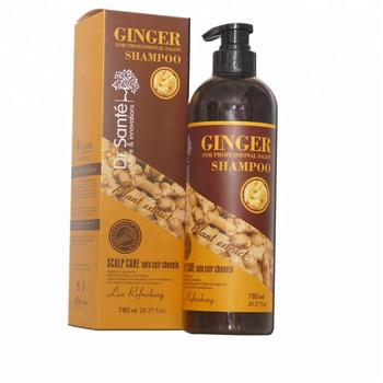 OEM/ODM Herbal Ginger professional natural organic hair growth shampoo for anti hair loss