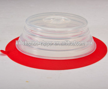 BPA free food grade Silicone Foldable Collapsible Plate Topper