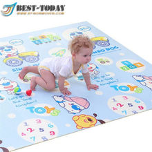 Outdoor picnic xpe foam baby gym play mat toys with sides