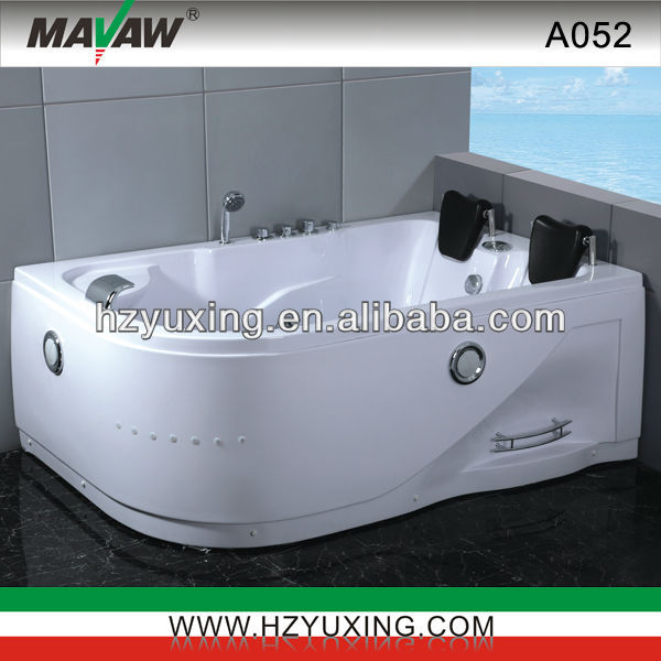 hot sale indoor whirlpool tub with water pump A052