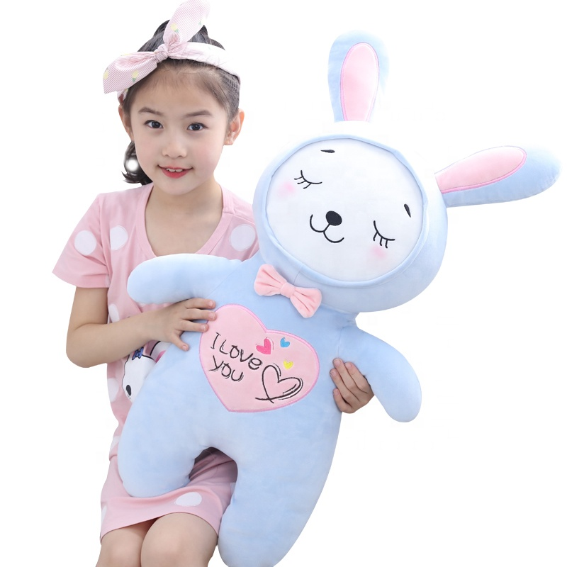 China Factory Made Small Modern Baby Stuffed Plush Bunny Toy With Long Ears For Kids Gift