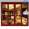 high quality automatic sensor glass sliding door