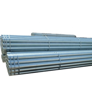 threaded steel gals galvanized post pipe scaffolding tube 60g cast iron gi pipes