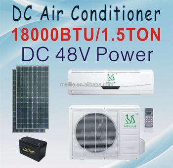 Dc 48v Air Conditioner 18000btu Solar Powered Air