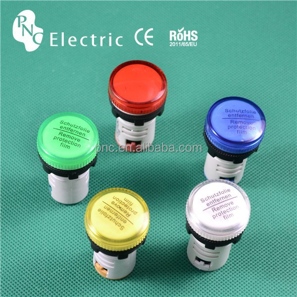 Ad16 Led Push Button & Indicator Light/signal Lamp/pilot Lamp ...