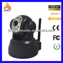 TCP/ IP 300,000 Megapixel Wireless IP Camera, Support Cellphone or Computer Monitor P2P Wifi webcam