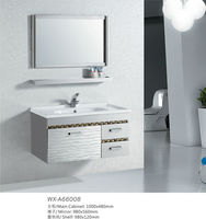 304 Stainless Steel Bathroom Cabinet Only Customized Bathroom Cabinet