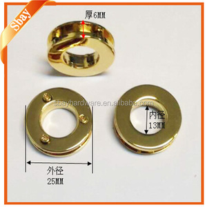High quality thick metal eyelets and washers