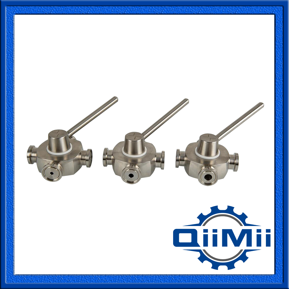 Sanitary Stainless Steel Plug Valve For Water, Beer,Drinks
