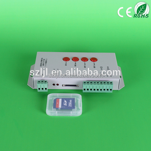 Alibaba hot serching dmx controller 2048 pixels rgb led module T1000S controller