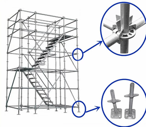 Used Construction Ringlock Scaffolding System for Sale
