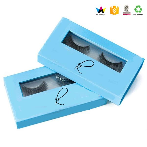 2017 Wholesale Luxury Custom False Eyelashes Packaging Box