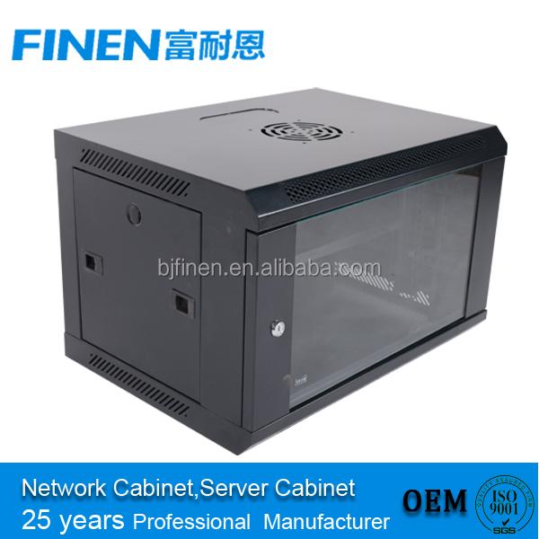 Wall Mount It Server Data Network Cabinet Rack Glass Door Locking ...