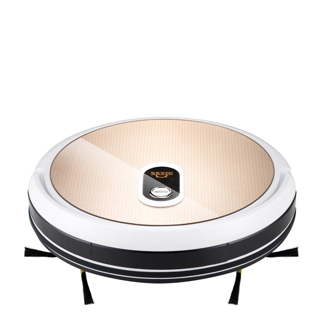 good robot vacuum cleaner with gyro navigation and smart memory phone WIFI APP control