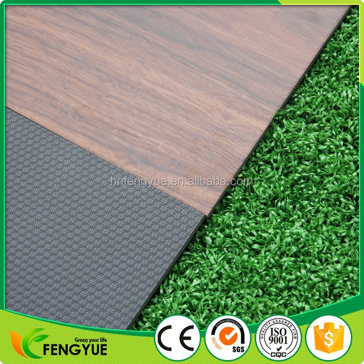 Good Price 5mm Thick Loose Lay PVC Flooring 0.5mm Wear Layer Vinyl Flooring Tile