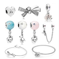 Wholesale New Arrival 925 Sterling Silver Charm Fits Pandoras Charms Bracelets