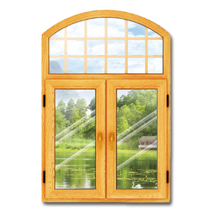 2018 Hot sale new design latest window grill design UPVC awning window top arch window with cheap price high quality soundproof