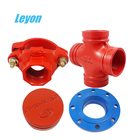 fire hydrant coupling female iso7/1 tee ductile iron double flange bend/elbow dn25-dn600 tee