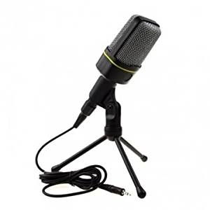 Podcast Studio Microphone with Tripod Skype Webcast