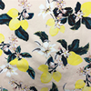 Brilliant Color Custom Digital Printed Floral 100 Cotton Twill Fabric For Dresses