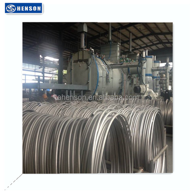 Sanitary Surface Stainless Steel heat Exchange Extractor Cooling Coil