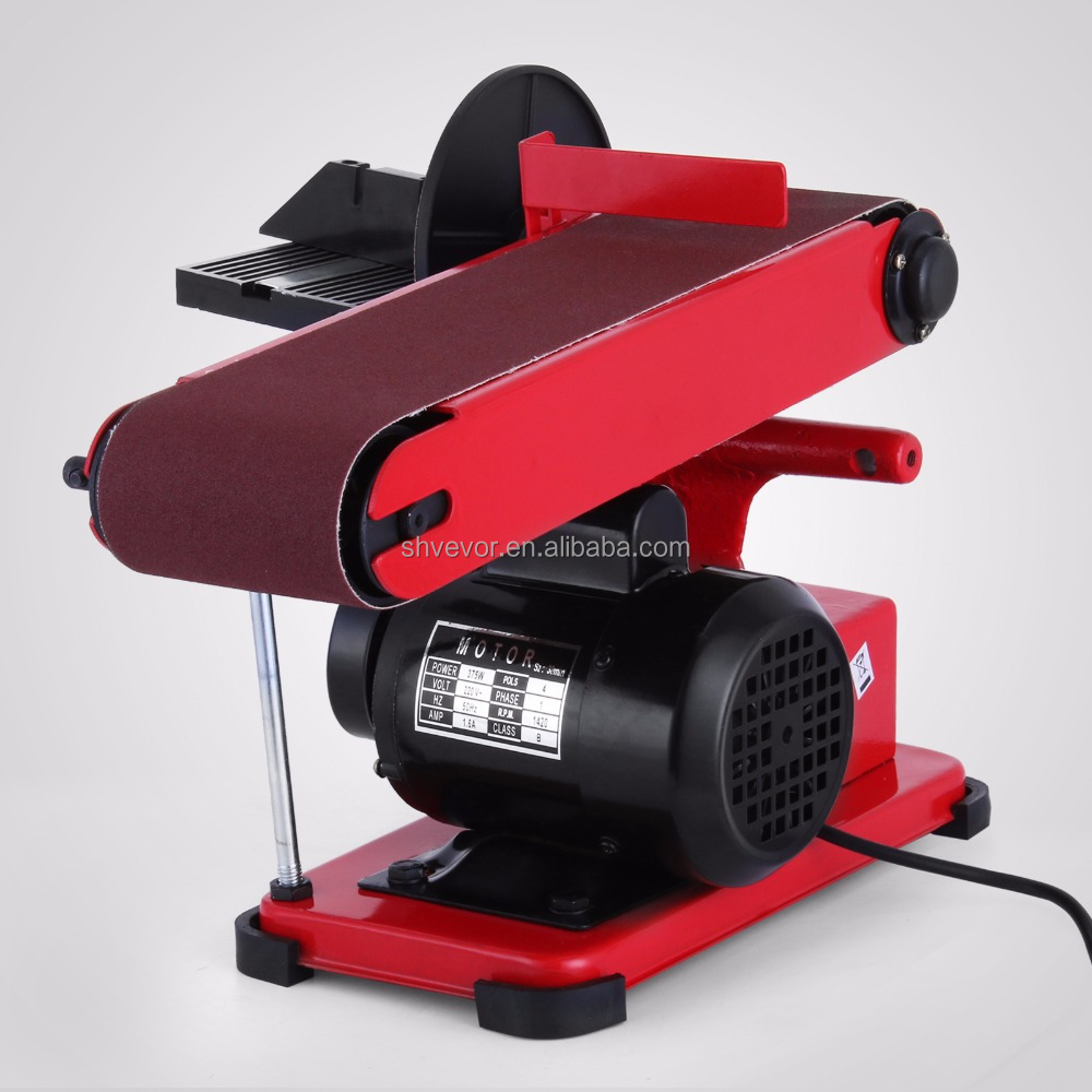 Bench Sander for Wood 6 Inch Disc 4x36 Inch Belt Sander Electric Combo Adjustable Grinder Sander