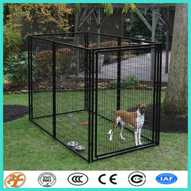 large dog used welded tube eco-friendly dog kennel dog cage