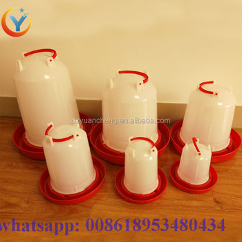 Automatic Drinker For Chicken Poultry Feeder Plastic Chicken Drinker And Eating Machine