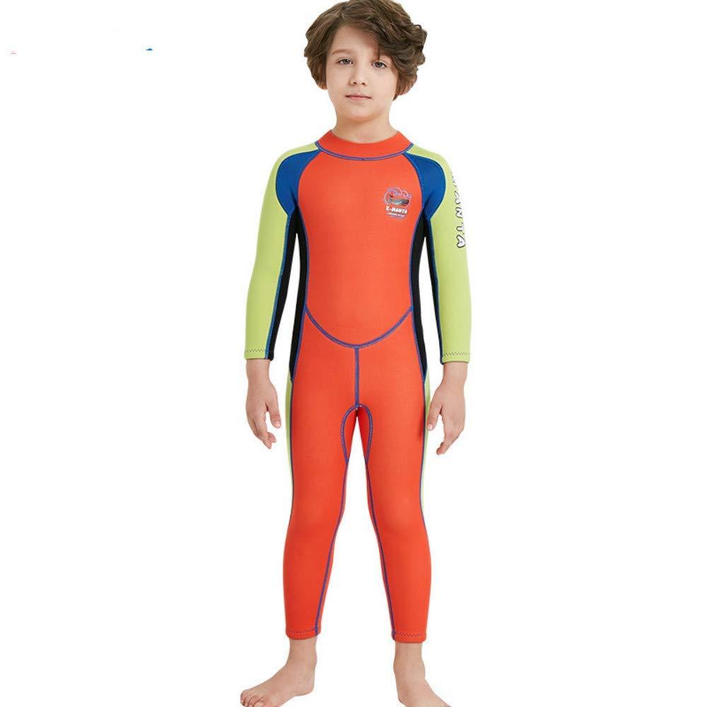 273b4240fd Get Quotations · Toogou Dive&SAIL Boys 2.5MM Neoprene Thermal Wetsuit  Anti-UV Full-Body Keep Warm
