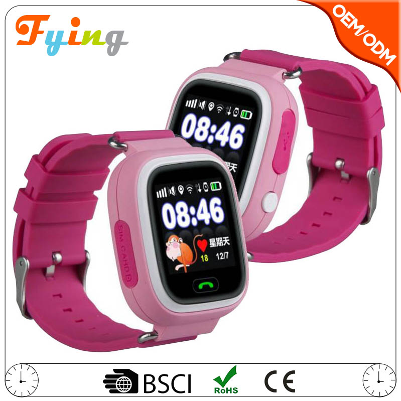 Q90 bluetooth wifi gps navigation,wrist watch gps tracking device for kids,WIFI gps kids smart watch q90