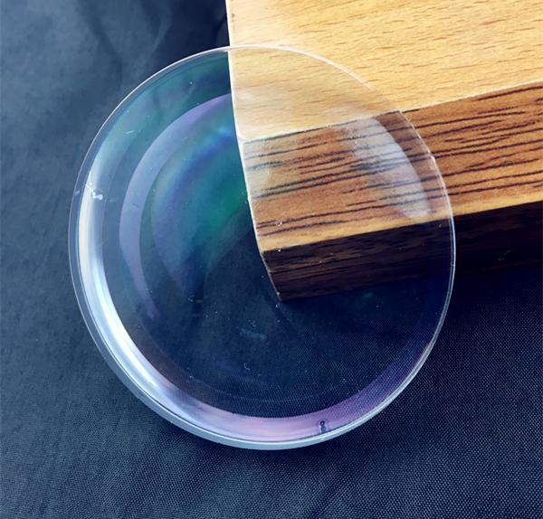 wholesale eyeglasses lenses 1.56 middle index sv green hmc 70mm optical lens
