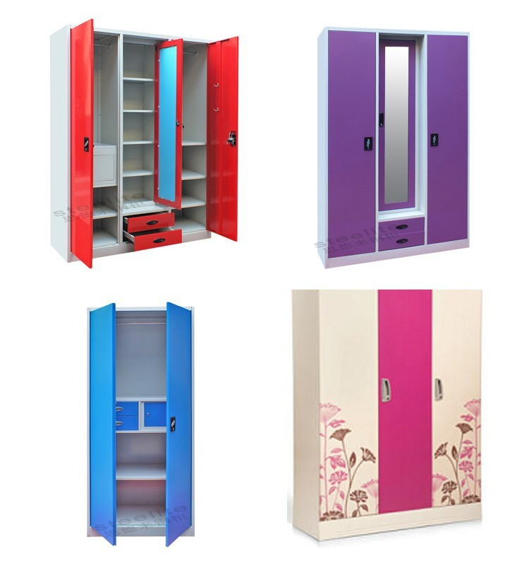 Bedroom Steel Or Iron Almirah Cupboard Designs Indian