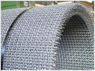 stainless steel crimped wire mesh, mining screen mesh,steel vibrator screen mesh