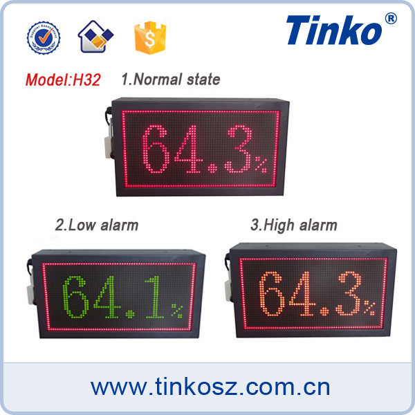 Tinko cheap LED display humidity LED digital date display led alarm clock H32A