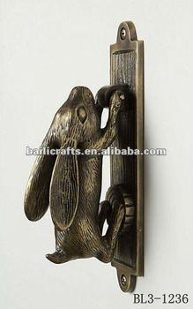 swinging hare door knocker & Swinging Hare Door Knocker - Buy Door KnockerCraft Door Knocker ...