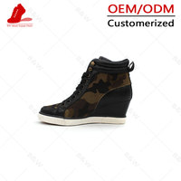 High quality most comfortable women high heel sport shoes
