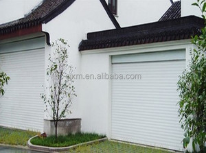 25.Industrial Position and Finished Surface Finishing Side Sliding Folding Garage Doors