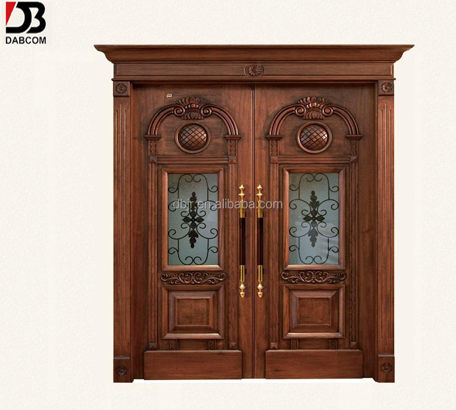 Where To Buy A Front Door: Antique Double Wood Front Doors Design