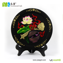 Good luck and family harmony lotus and box pattern traditional Chinese new innovative gifts for family day