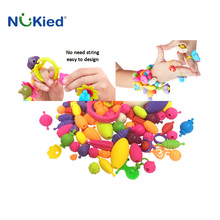 Nukied POP arty-crafty colorful beads accessories fashion design funny toy
