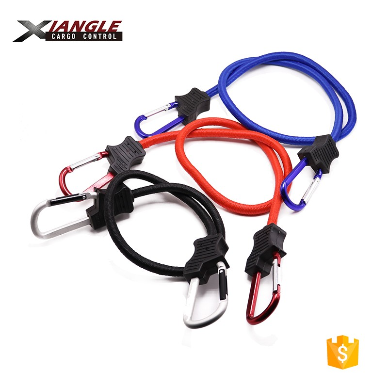 Elastic Rope Buckle Stretch Cord Hook Mini Bungee Cord with Hook for Tarps