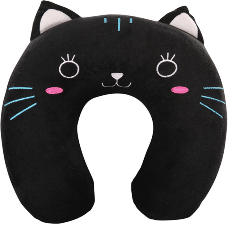 2017 new arrival cute funny car seat neck rest pillow