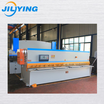 Global service 25*2500 steel plate hydraulic cnc cutting machine for European market with high safety equipment
