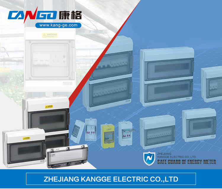 Kangge 0408 Transparent Contact Protection Window Hood for Distribution Box