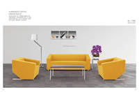 KL-S172-B factory directly sell OEM latest design fabric/leather green certification customized office sofa