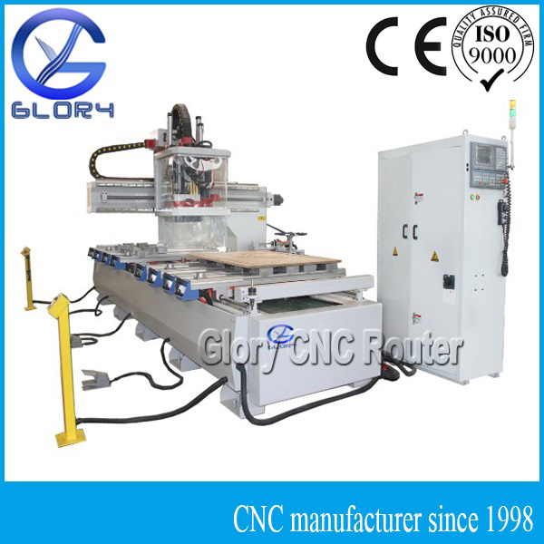 ATC CNC Woodworking Machine with ONE Arm, 9KW HSD Spindle, Yaskawa Servo Motor, Syntect Controller